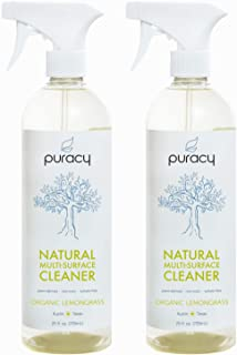 Puracy Multi-Surface Cleaner, Natural All Purpose Cleaner for Kitchens and Bathrooms,..