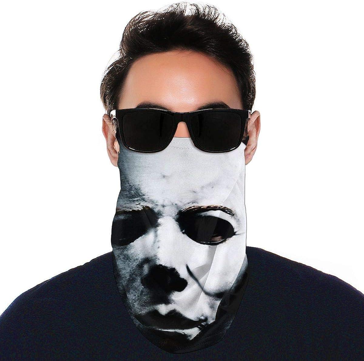 SIPONE Washable Men's & Women's Monster Magnet Reusable Multiuse Bandanas Neck Gaiter Print Mask