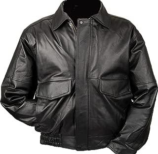 burk's bay leather jacket
