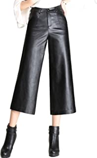 Best faux leather cropped pants Reviews