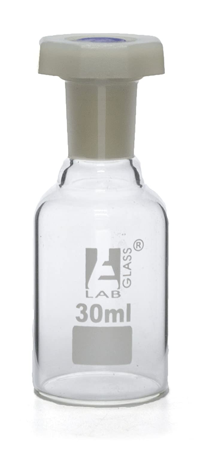 30mL 1oz Miami Mall Glass OFFicial site Reagent Bottle Proof Acid with Polypropylene St