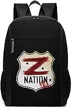 Giacomo Badali Mens Z Nation Vs TWD Logo Backpack Laptop Backpack School Bag Travel Backpack 17 Inch