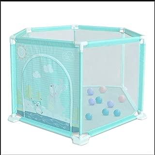 FJFSC Fence Indoor Fence Marine Ball Pool Safe Crawling Toddler Fence