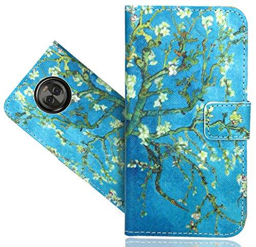 Motorola Moto X4 Handy Tasche, FoneExpert® Wallet Hülle Flip Cover Hüllen Etui Hülle Ledertasche Lederhülle Schutzhülle Für Motorola Moto X4