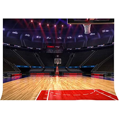 Lylycty 7x5ft Basketball Court Backdrop High End Luxury Indoor Basketball Court Sports Theme Photography Backdrop Sports Club Photography Background Props Show Wallpaper Lylx399 Camera Photo