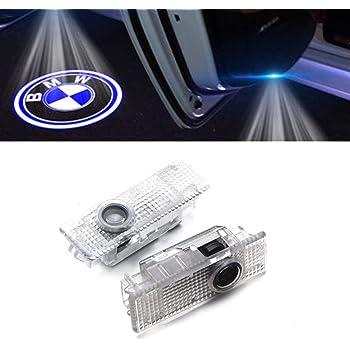 2 luces LED ultrabrillantes de cortes/ía con logotipo M para puerta proyector de logotipo