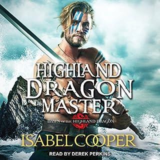 Highland Dragon Master audiobook cover art