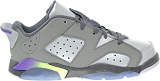 250d42254cfb Jordan 6 Retro Low GP Little Kids Shoes Dark Grey Ultraviolet-Wolf Grey-