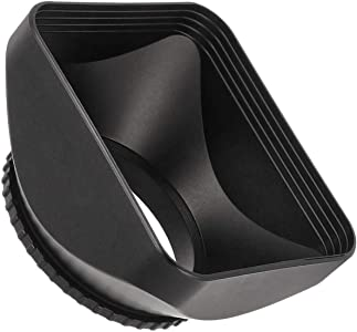 CELLONIC   Lens Hood 46mm compatible with Nikon DL18-50 lens camera Su...