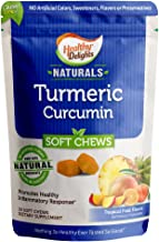 Healthy Delights Naturals, Turmeric Curcumin Soft Chews, Promotes Healthy Inflammation Response, 100 mg of Turmeric per ch...