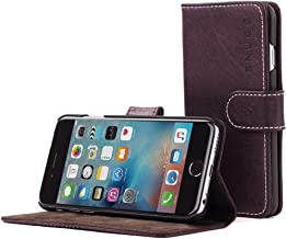 iPhone 6 and 6S Case, Snugg Amethyst Purple Leather Flip Case [Card Slots] Executive Apple iPhone 6 and 6S Wallet Case Cover and Stand - Legacy Series