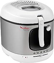 Moulinex AM480027 Mega Deep Fryer, White - 2100 Watt