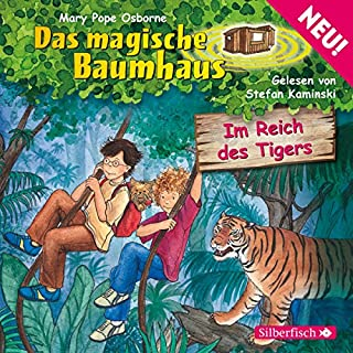 Im Reich des Tigers audiobook cover art