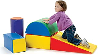 Constructive Playthings 5 Piece Lightweight Vinyl Soft Play Forms For Toddlers