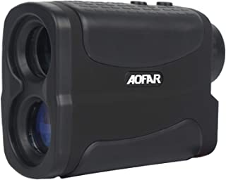 AOFAR HX-700N Hunting Range Finder 700 Yards Waterproof Archery Rangefinder for Bow Hunting with Range Scan Fog and Speed Mode, Free Battery, Carrying Case�