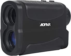AOFAR Hunting Archery Range Finder-700/1000 Yards Waterproof Rangefinder for Bow Hunting with Range Scan Fog and Speed Mode, Free Battery, Carrying Case
