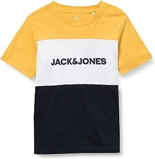 Jack & Jones Junior Jjelogo Blocking tee SS Noos Jr Camiseta para Niños