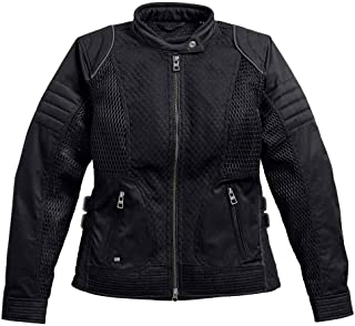 HARLEY-DAVIDSON Women's Winged #1 Waterproof Mesh Jacket 97204-17VW