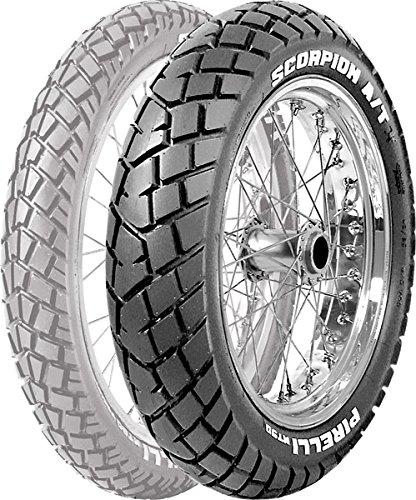 Pirelli MT 90 A/T - achter - banden 120/90-17 Positie: achter, type band: Double Sport, Maat: Banden 120/90-17 Velgmaat: 17, Draagvermogen: 64, Snelheidsindex: S, Toepassing: leuning 1004300 van Pirelli