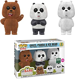 POP Animation: We Bare Bears - 3 Pack Flocked Barnes & Noble Exclusive