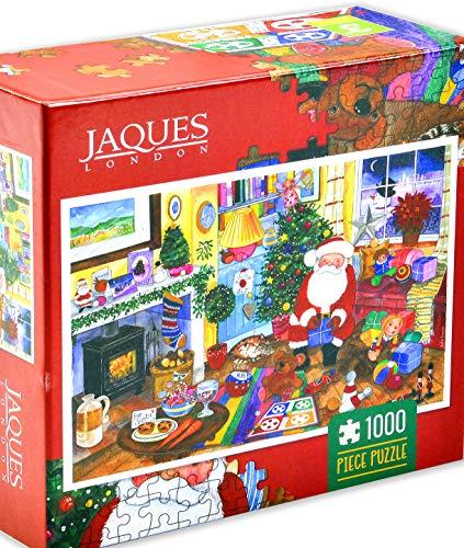 Jaques of London Puzzle de día de Navidad 1000 Piezas