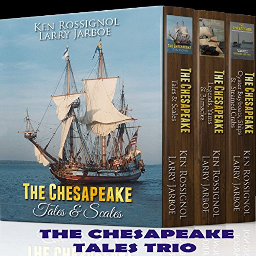 The Chesapeake Tales Trio audiobook cover art