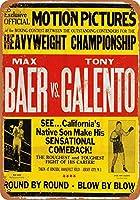 1939年Baer vs Galentoの壁アートのコレクション