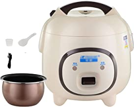 Rijstkoker (1.6L/300W) Huishoudelijke niet-Stick Rijstkoker, automatische warmtebehoud, met spatel en maatbeker, voor 1-2 ...