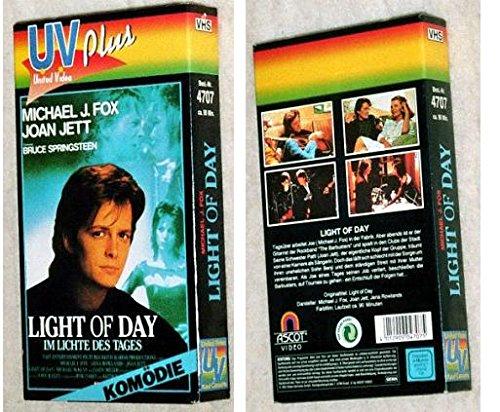 Light of Day Reino Unido VHS