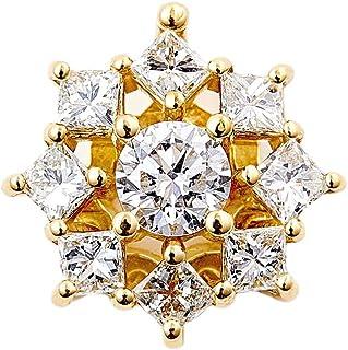 カナディアンダイヤモンド ペンダントヘッド 計0.34ctUP [K18YG] 専用ケース付