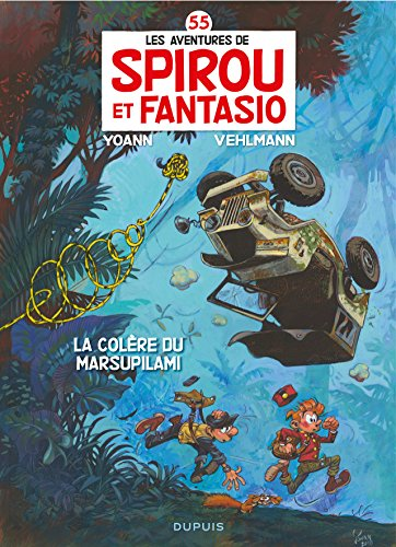 Spirou et Fantasio - Tome 55 - La colère du Marsupilami (French Edition)