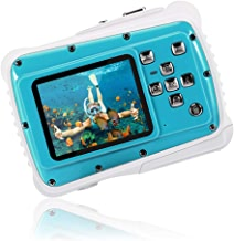 Kids Waterproof Camera,CrazyFire 21MP HD Digital Camera with 2.0 Inch LCD Display,8X Digital Zoom and Floating Wrist Strap(32G TF Card Included)