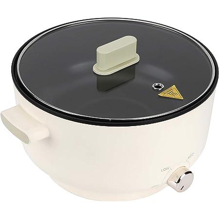 EBTOOLS Hot Pot Electrique 5 L Fondue Électrique Multifonction à Usage Domestique Cuisinière Electrique Nettoyage Facile Pratique pour Maison(5L)