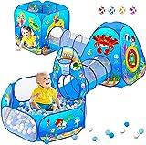 5 piezas de tienda de juego para niños y túneles...