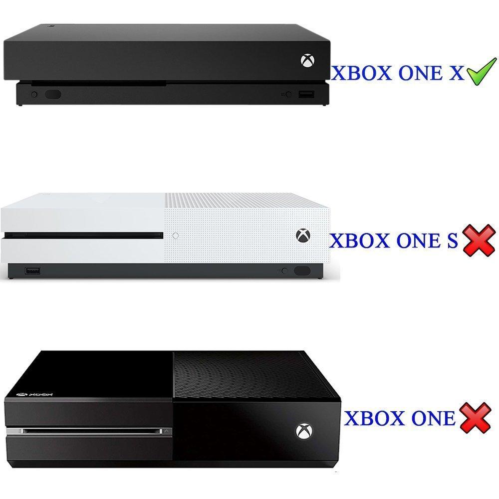 Xbox One X Pegatina Decals Morbuy Skin Adhesivo de Vinilo Stickers Cover Estilo Personalidad de la Moda Protector Console and 2 Controllers+ 1pc Mano Dedo Fuerza Ejercitador (Dibujo verde): Amazon.es: Hogar