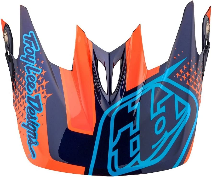 New Free Shipping Troy Lee Designs Adult Challenge the lowest price of Japan ☆ D3 BMX Starburst Helmet Accessories Visor