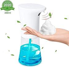 OTUOER Automatic Soap Dispenser, Hand Free Auto Foaming Soap Dispenser 12 oz/350ml, Infrared Motion Sensor ...