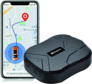 GPS Tracker, 5000mAh GPS Ortung für Fahrzeuge Wasserdicht Echtzeit Auto GPS Tracker Starke Magnet Ortungsgerät Für Motorrad LKW Diebstahlwarnanlage TK905