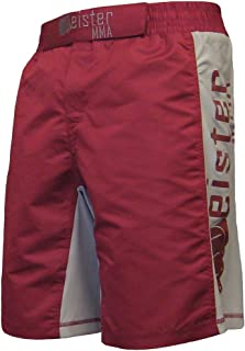 Meister MMA Crimson Red Board Fight Shorts