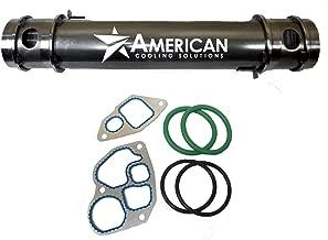 NEW Replacement Oil Cooler & Gaskets 1815904C2 for Navistar 7.3L Powerstroke DT466 DT530 T444E