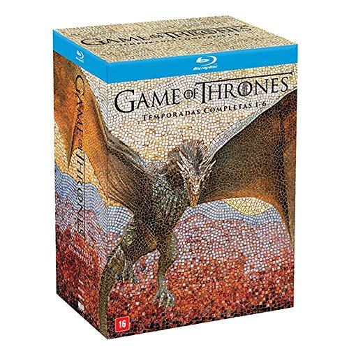 Box - Coleção Game of Thrones - 1ª a 6ª Temporada