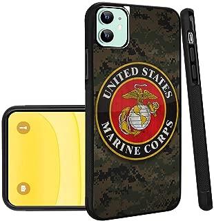 US Marine Corps iPhone 11 Phone Case Black TPU Protective case Shockproof Non-Slip Soft Designed US Marine Corps case for iPhone 11