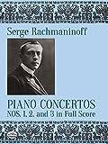 Piano Concertos 1, 2 & 3: Noten, Partitur für Klavier (Dover Music Scores)