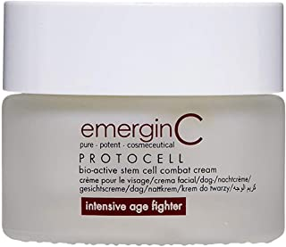 emerginC Protocell Anti Aging Face Cream - Bio-Active Plant Stem Cell Moisturizer with Hyaluronic Acid (1.7 Ounces, 50 Mil...