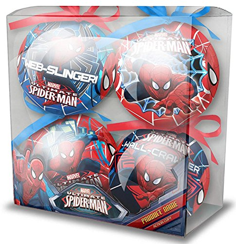 misterpeluche-it Spiderman - Marvel - Box avec 4 Boules de Noel - 7196