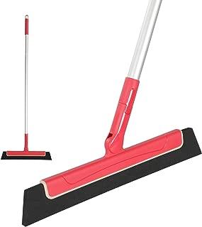 CLEANHOME Floor Squeegee Adjustable Professional Water Sweeper for Bathroom,Perfect for Wet Floor,Glass,Window,Tile Shower Pool Deck Pet Hair Floor Wiper Squeegee Broom