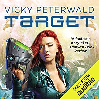Target     Vicky Peterwald, Book 1              By:                                                                                                                                 Mike Shepherd                               Narrated by:                                                                                                                                 Dina Pearlman                      Length: 10 hrs and 11 mins     335 ratings     Overall 4.0
