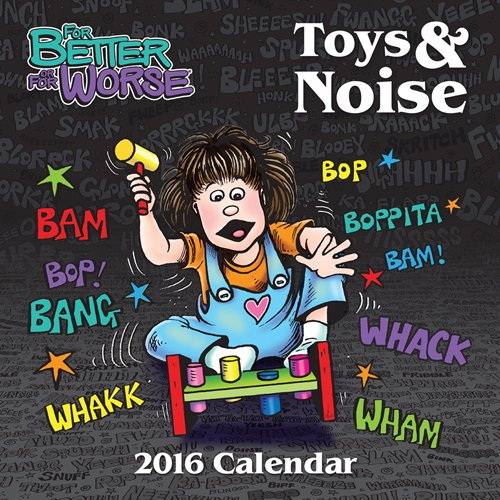 For Better Or For Worse 2016 Square 12x12 Wall Calendar