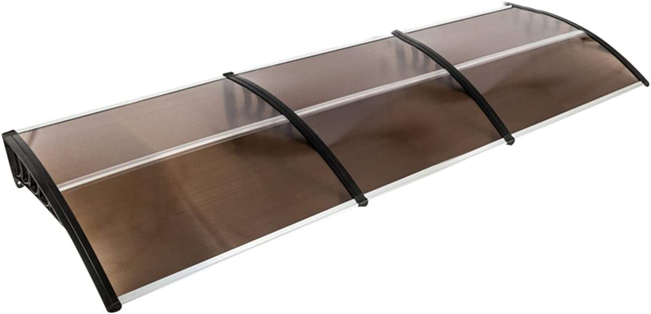 FHUA safety Awning Household Application Door Window Rain Eaves Cover Our shop most popular
