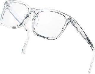 DeBuff Blue Light Blocking Glasses Women Men Clear Lens Square Frame Computer Eyeglasses